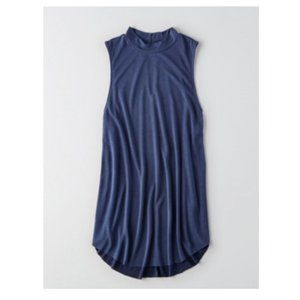 AE Soft and Sexy Swing Tank Skyline Blue Size XS